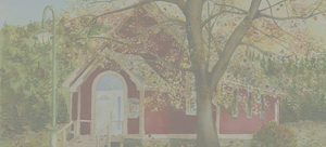 aquarelle eglise